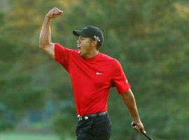 Tiger Woods odds to win the Masters have been lowered to 12/1. (Image: Getty)
