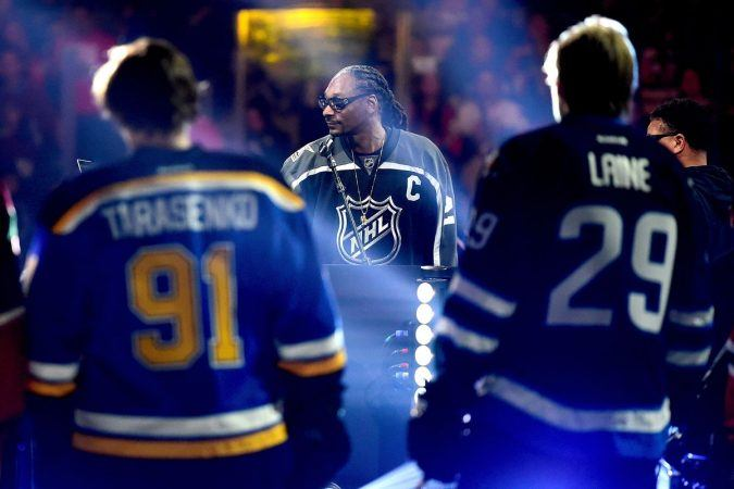 Snoop Dogg has played at the NHL All-Star Game, and now he's trying to attract new hockey fans. (Source: SB Nation)