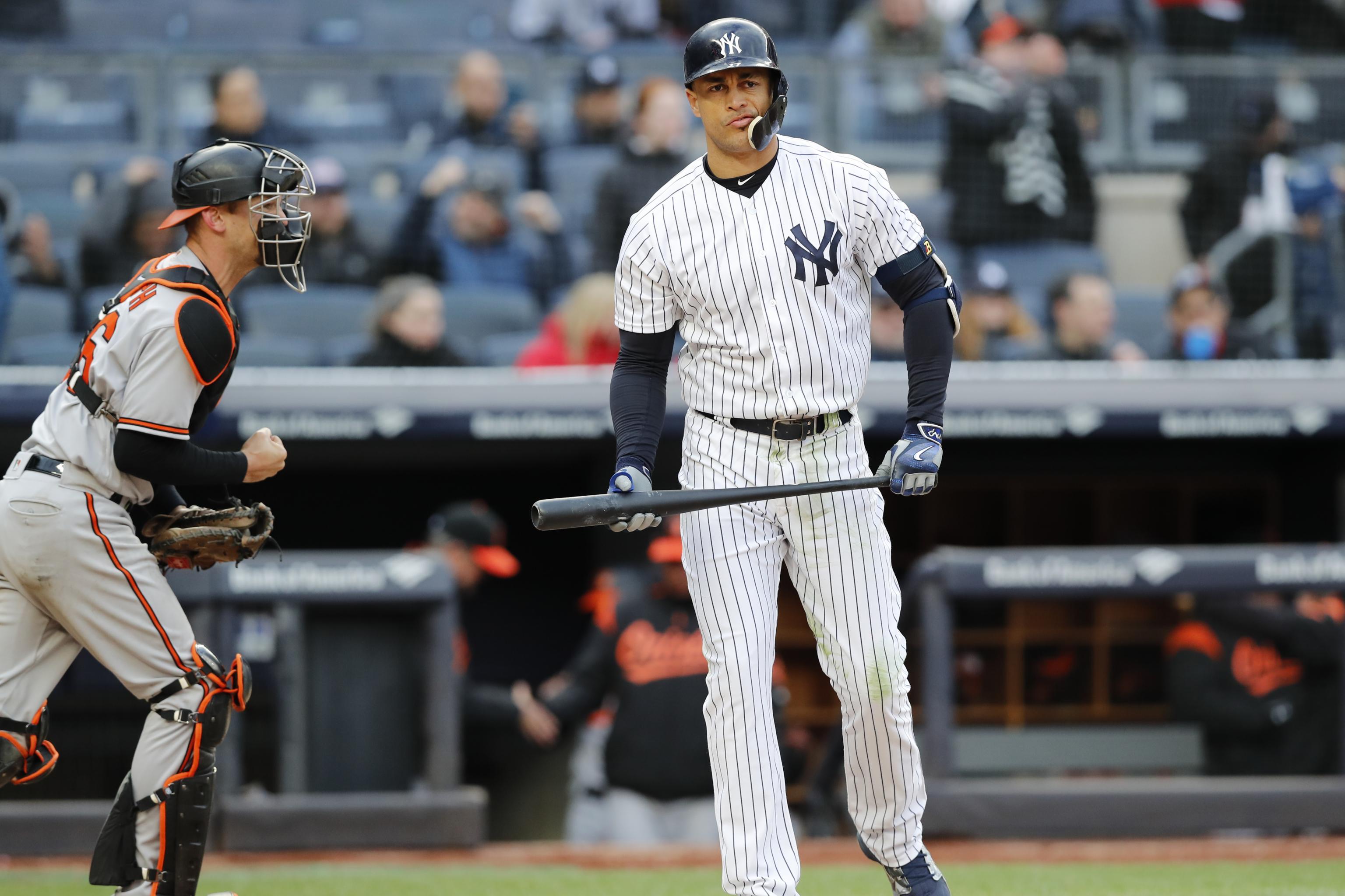 Giancarlo Stanton Yankees start