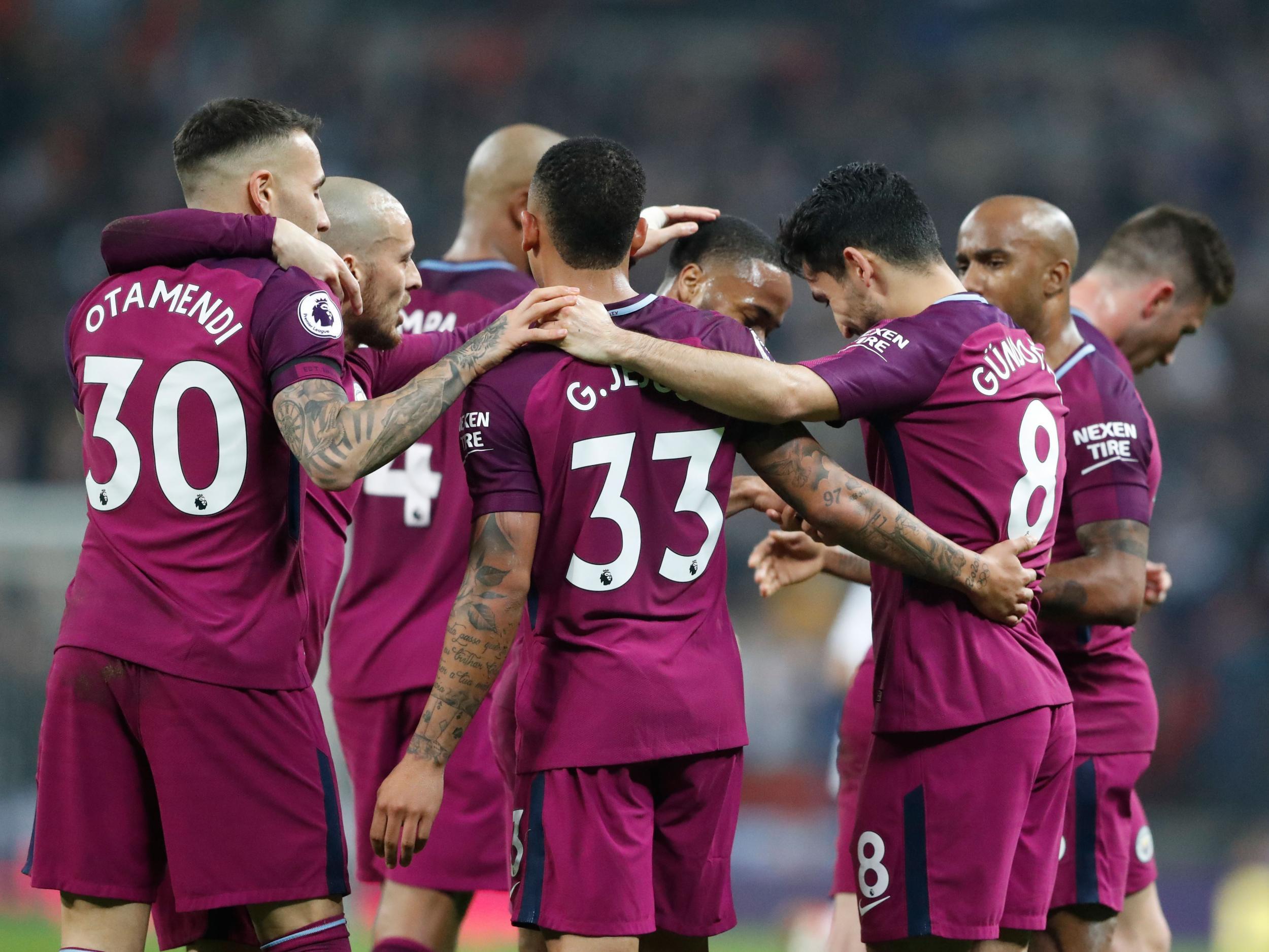 Manchester City EPL championship