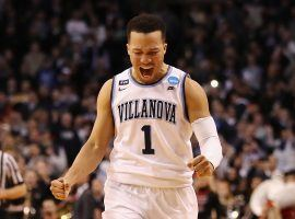 Jalen Brunson was named player of the year by the AP, but he is just one of many offensive weapons Villanova brings into the national championship game. (Image: Elsa/Getty)