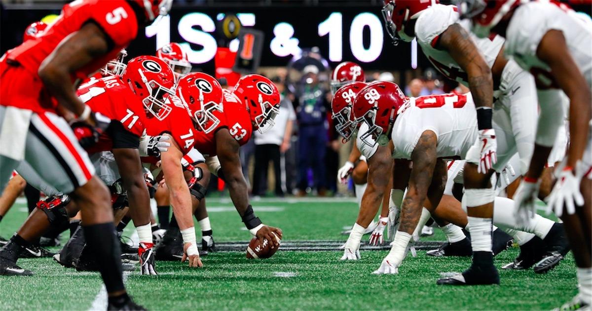 cfe8224b11c Alabama, Georgia Pegged to Win 10-Plus College Football Games in 2018