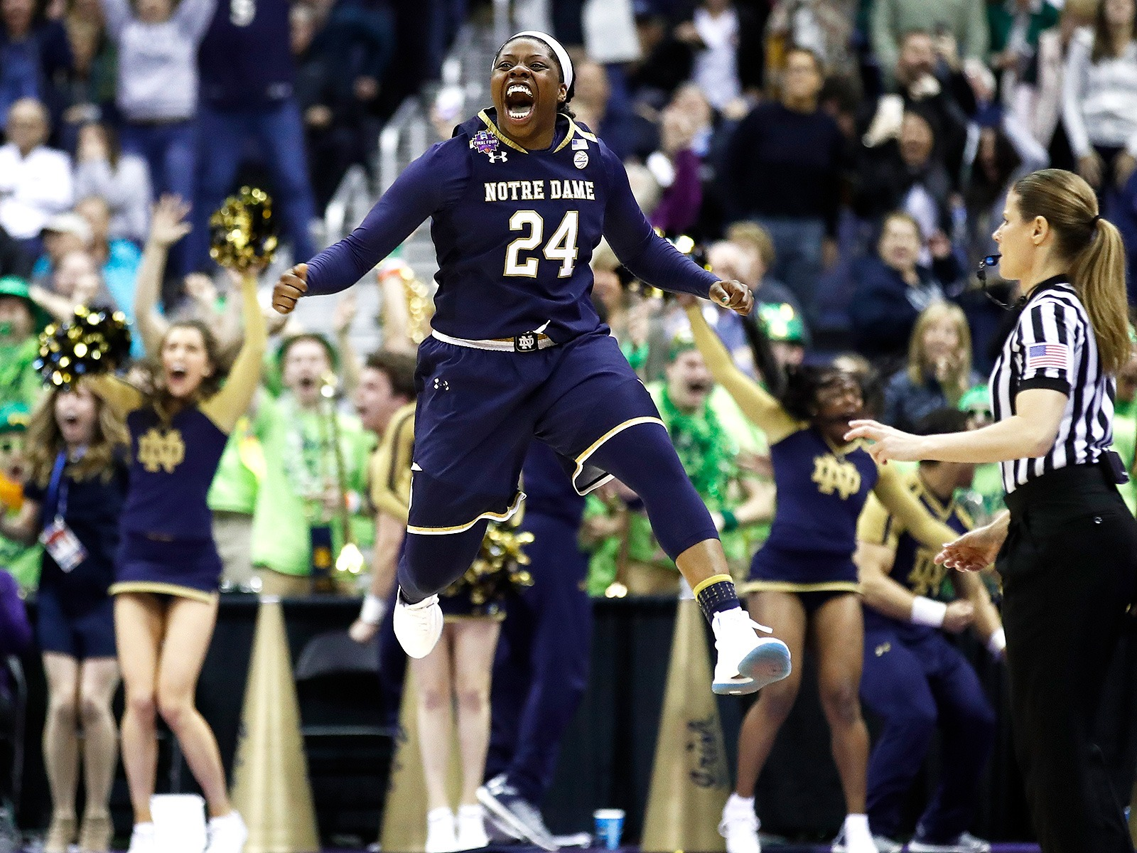 Notre Dame Wins NCAA Women's Championship with Epic Comebacks