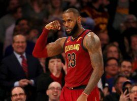LeBron James is going to have to flex his muscles in Cleveland's opening round series if the team is going to advance. (Image: Getty)