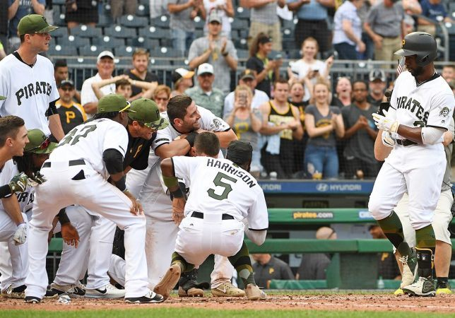 The Pittsburgh Pirates are unexpectedly winning this season and having fun doing so. (Image: Getty)