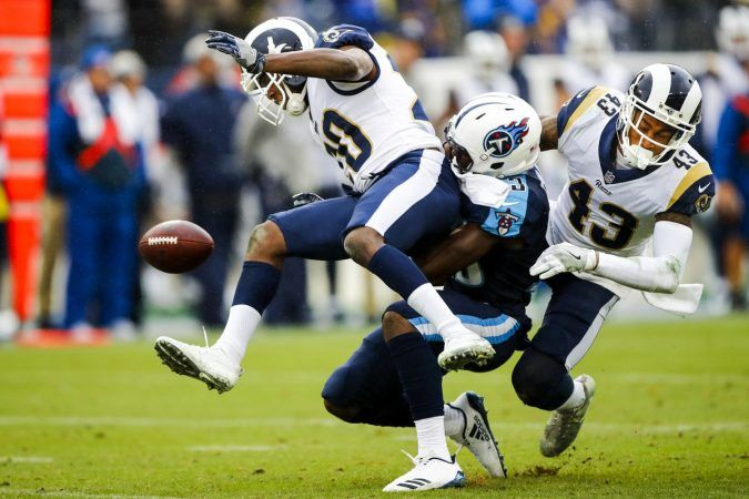 The Los Angeles Rams made upgrades to both their offense and defense are should be playoff contenders again. (Image: Getty)