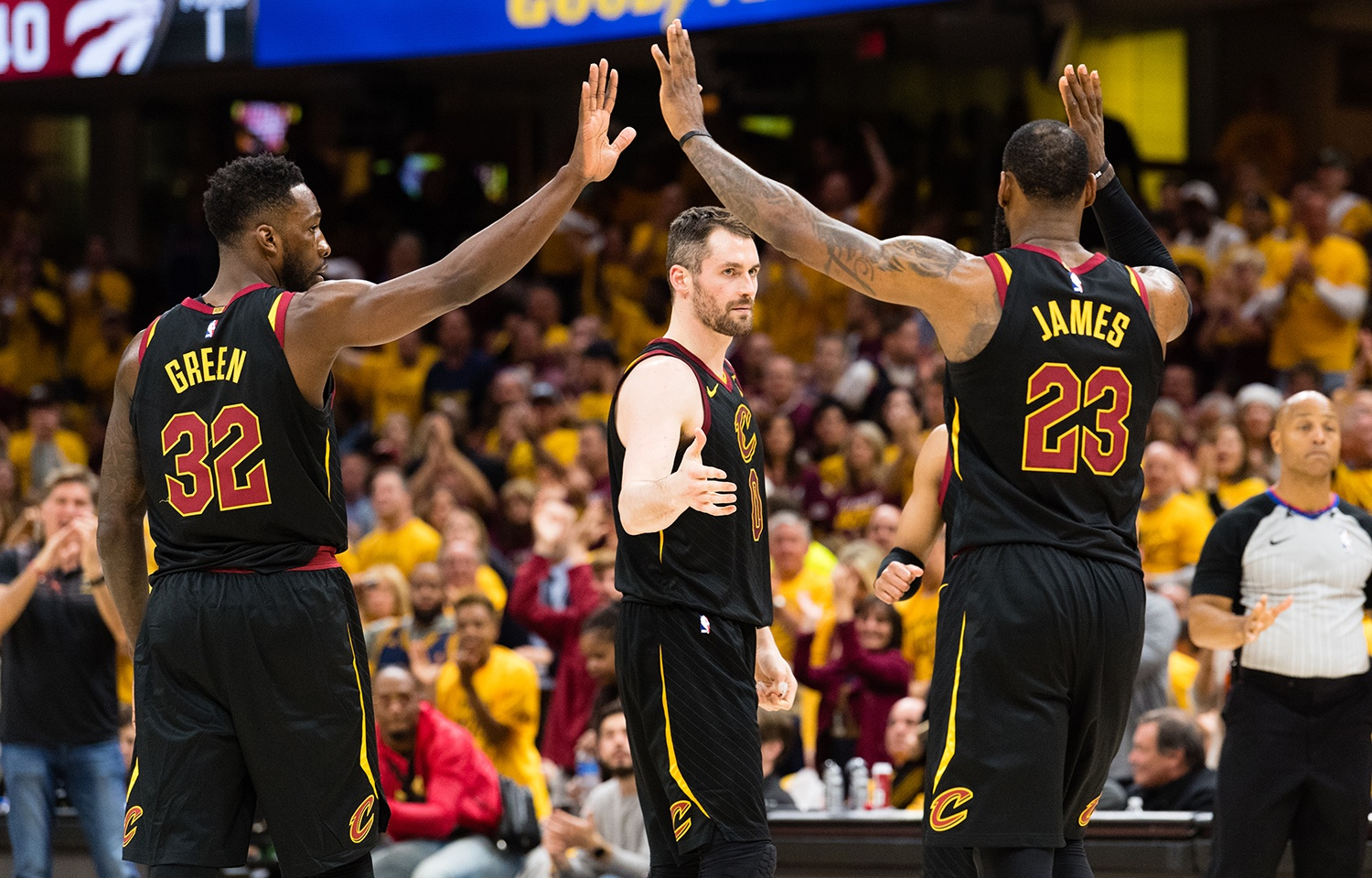 bd406bcdf Cavaliers Sweep Raptors to Advance to NBA Eastern Conference Finals