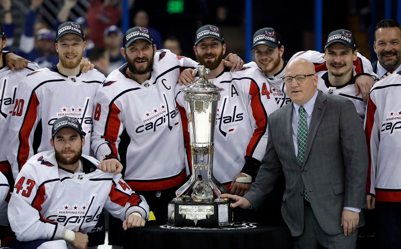 Washington Capitals Shut Out Lightning to Advance to Stanley Cup Finals