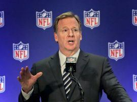 NFL Commissioner Roger Goodell called on Congress Monday to pass sports betting legislation. (Image: AP)