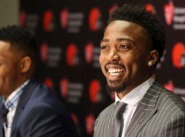 The Cleveland Browns are banking on quarterback Tyrod Taylor (right), not rookie Baker Mayfield, to turn the franchise around in 2018. (Image: ESPN.com)