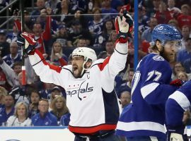 Alexander Ovechkin has the Washington Capitals two wins away from the Finals. (Source: The Denver Post)