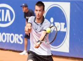 Ukrainian tennis player Dmytro Badanov was banned for life for fixing tennis matches. (Image: Sinar Online)