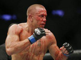 George St. Pierre is set to return to the ring vs Nate Diaz. (Source: bloodyelbow.com)