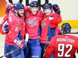The Washington Capitals, led by four assists by Evgeny Kuznetsov, defeated the Vegas Golden Knights 6-2 in Game 4 of the Stanley Cup Final. (Image: Getty)