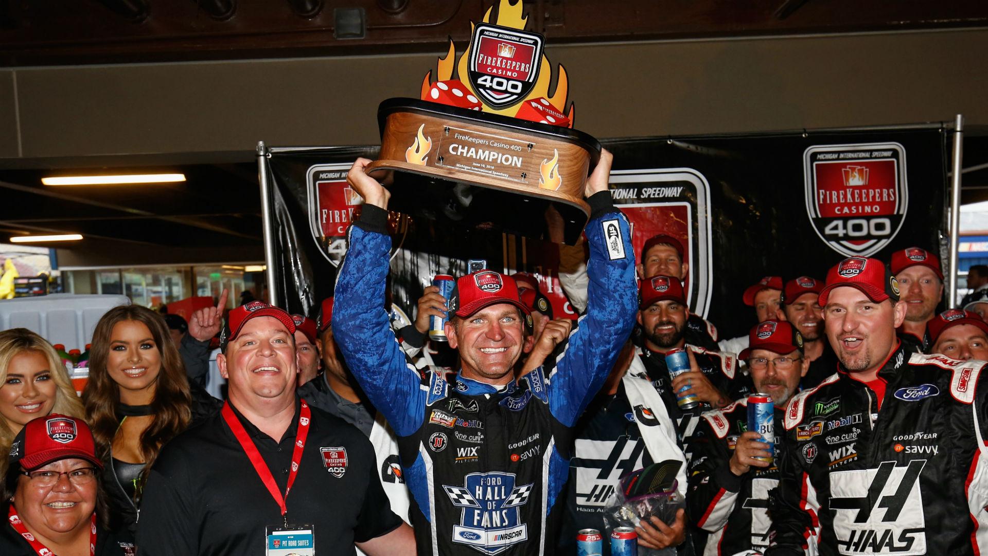 Clint Bowyer NASCAR Michigan
