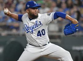 The Washington Nationals acquired Kansas City Royals closer Kelvin Herrera on Monday in hopes of solidifying their bullpen. (Image: Getty)