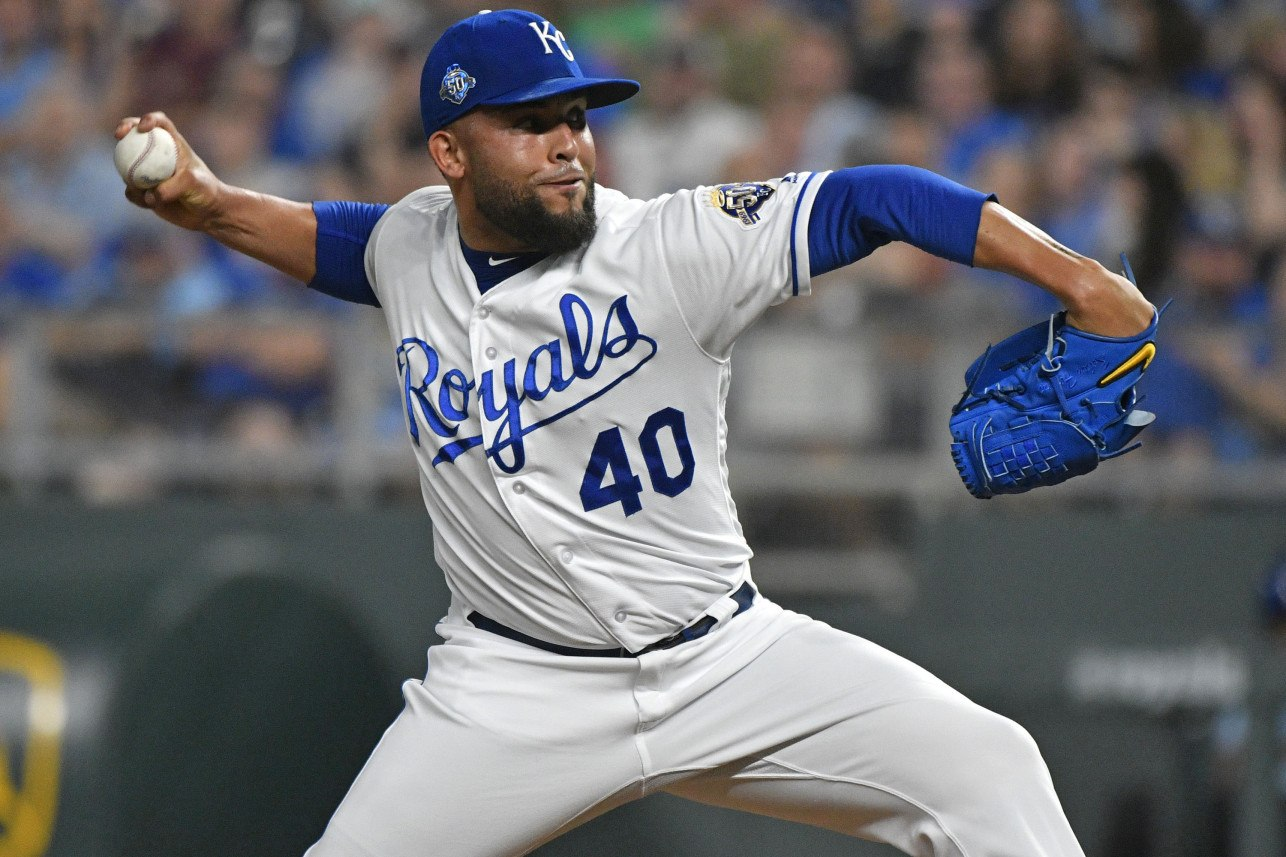 Washington Nationals Trade for KC Royals Reliever Kelvin Herrera to Bolster Bullpen