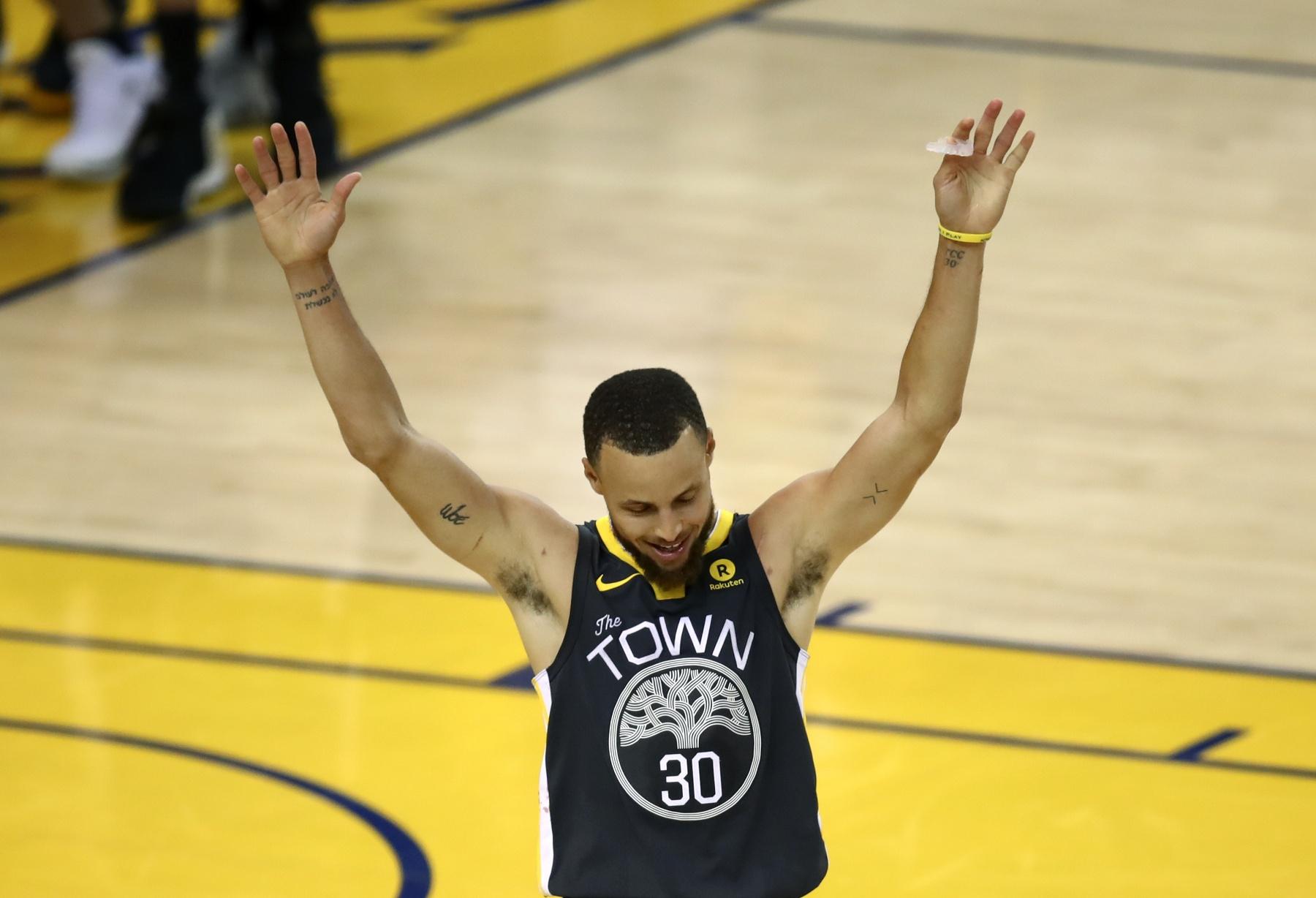 Stephen Curry NBA Finals