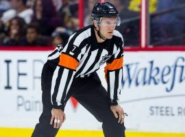 NHL Referee Garrett Rank qualified for the US Open as an amateur. (Image: Getty)