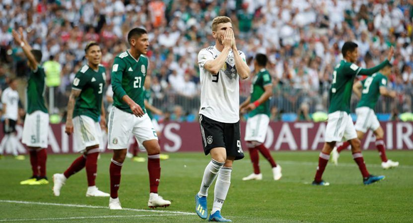 Germany must avoid another upset when they face Sweden, or the defending champions will be going home. (Image: Reuters)