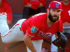 Jake Arrieta signed with Philadelphia in the offseason and is helping his new team. (Image: Getty)
