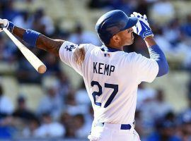 Matt Kemp is leading the National League in hitting and is a big reason the Los Angeles Dodgers are competing again. (Image: Sports Illustrated)