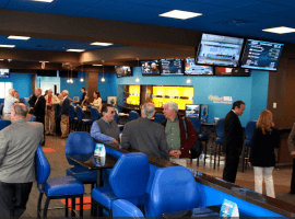 Monmouth Park's sportsbook has been ready for several years, and is now fully operational. (Image: Monmouth Park)