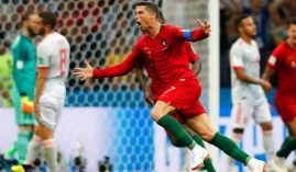 Portugal's Ronaldo scored three goals against powerhouse Spain and should score easily against Morocco. (Image: AP)