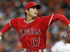 Los Angeles Angels two-way player Shohei Ohtani has a sprained elbow ligament and may need season-ending surgery. (Image: Getty)