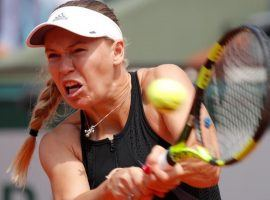 Caroline Wozniacki was the latest upset victim at the French Open, losing in straight sets to Daria Kasatkina. (Image: Reuters)