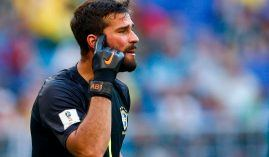 Liverpool is paying a record transfer fee to pry Brazilian goalkeeper Alisson away from Roma. (Image: AFP)