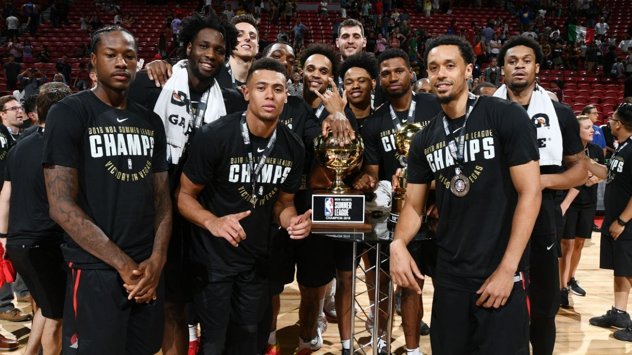 Portland Trail Blazers Defeat Lakers to Win NBA Summer League Title