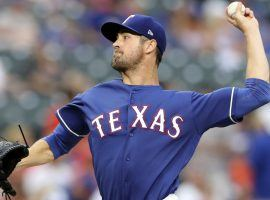 The Texas Rangers are reportedly trading Cole Hamels to the Chicago Cubs for a package of minor league prospects. (Image: USA Today Sports)