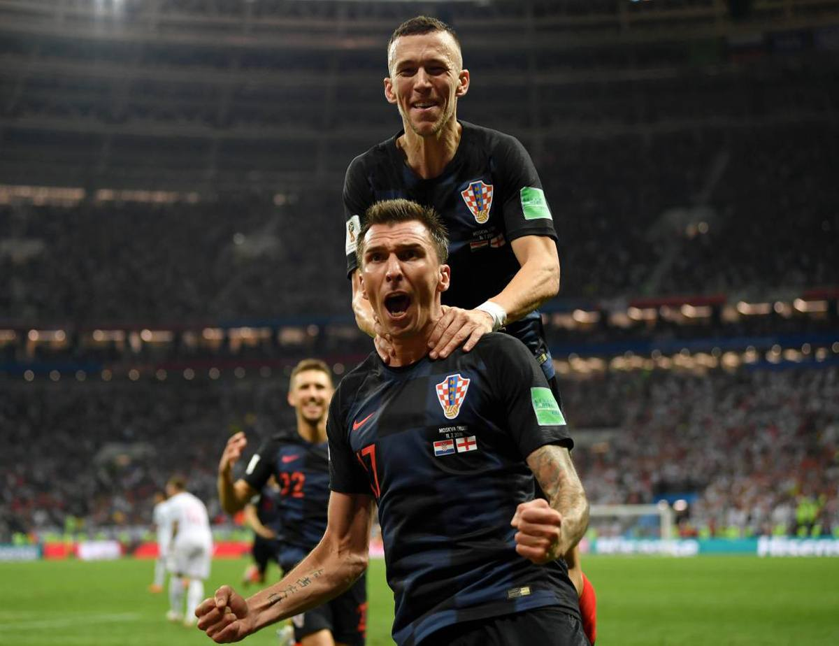 Croatia England World Cup