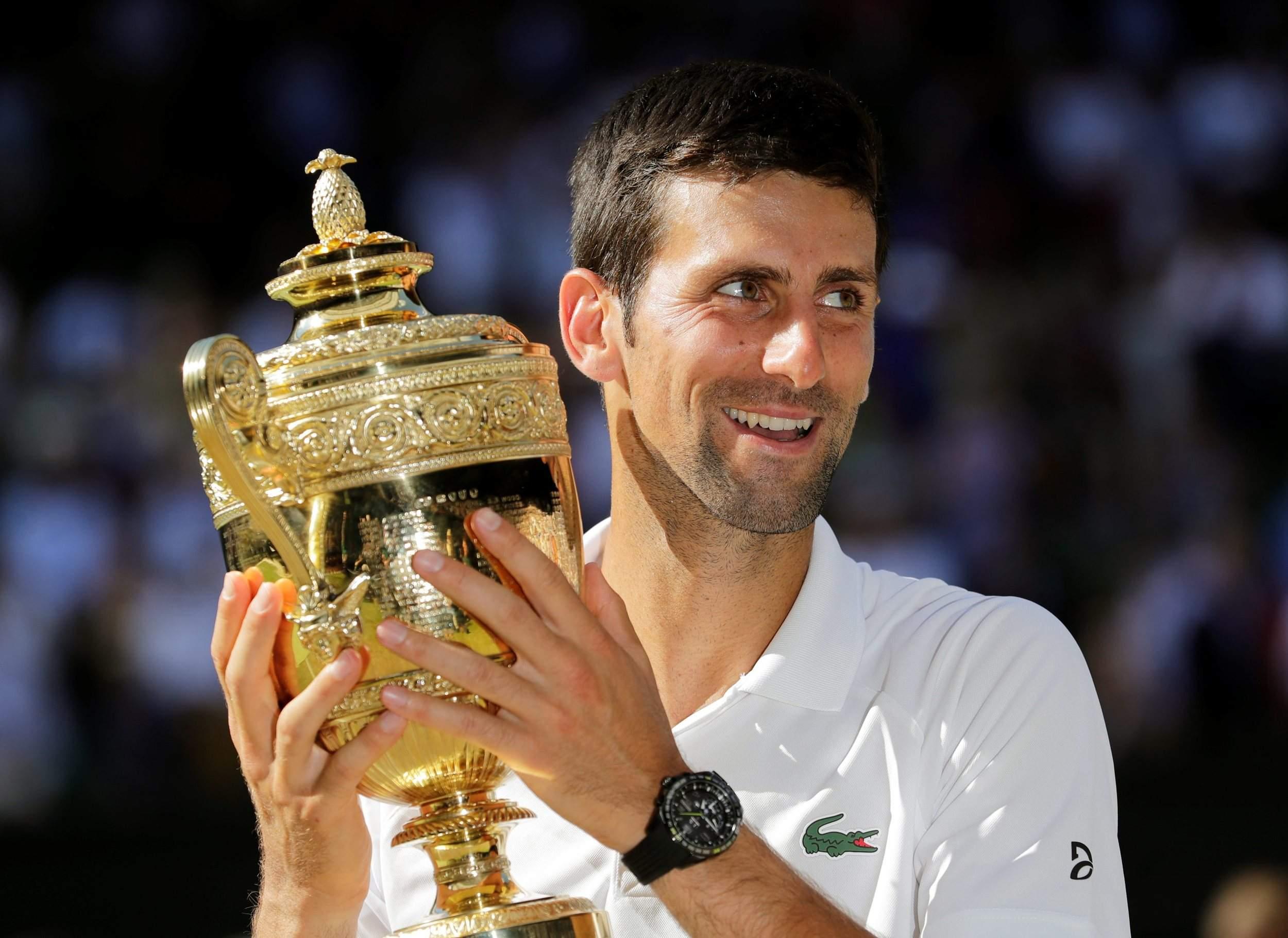 Novak Djokovic Wimbledon US Open