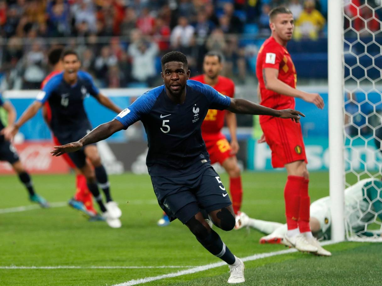 Samuel Umtiti, 2018 World Cup, France