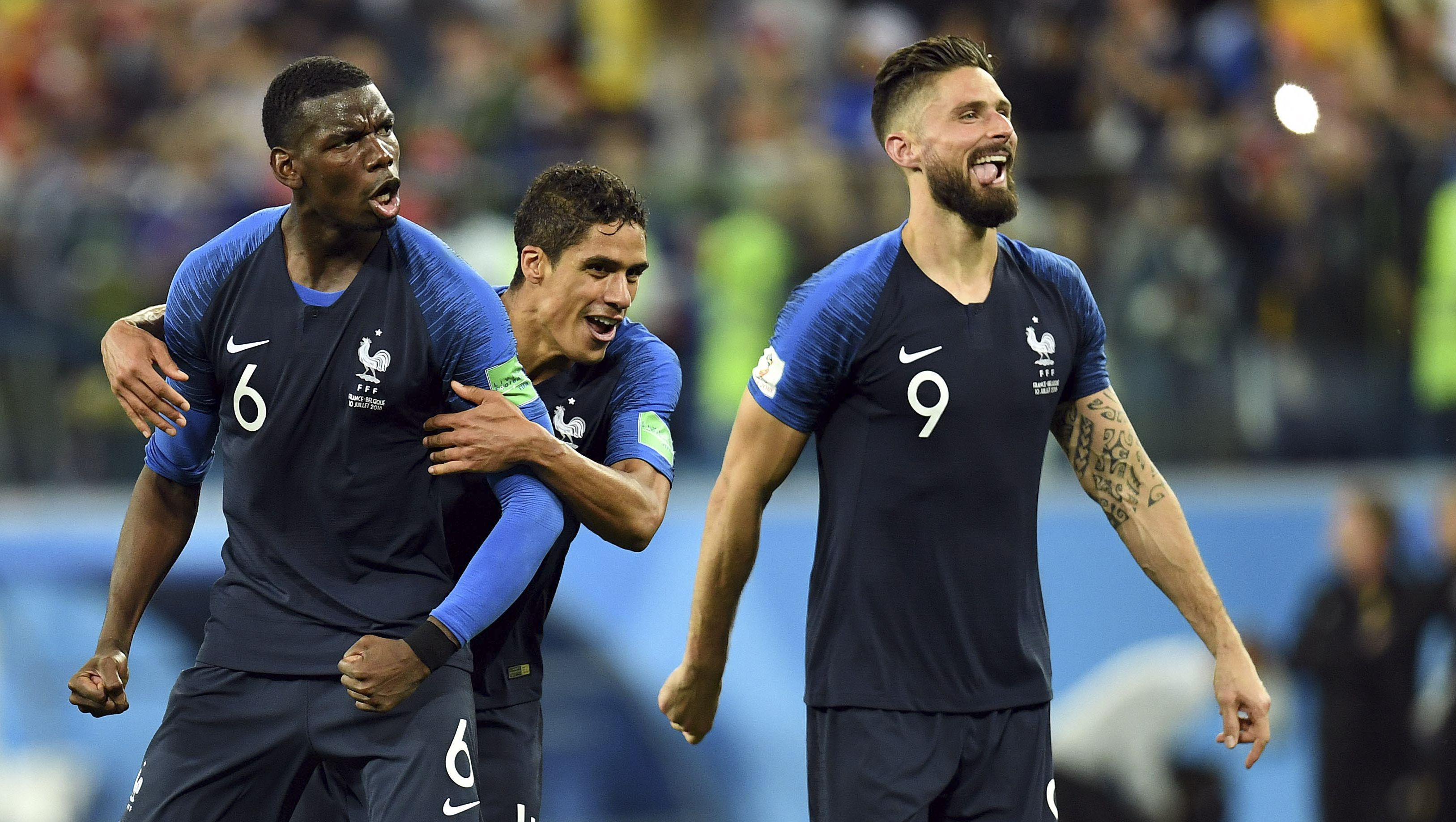 World Cup Final France Croatia