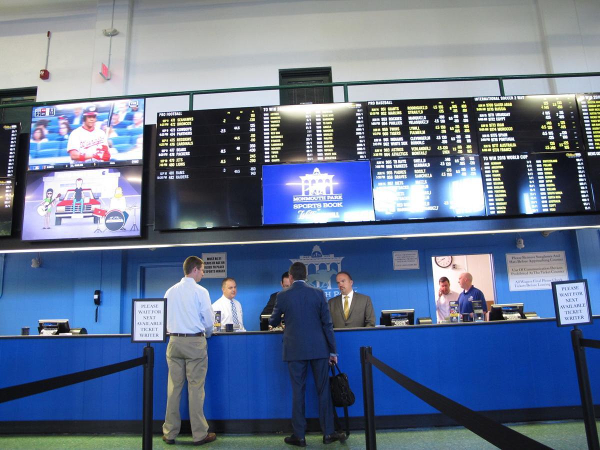 New Jersey sportsbook revenue