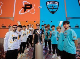 The Philadelphia Fusion will meet the London Spitfire in the first Overwatch League Grand Finals. (Image: Overwatch League/Twitter)