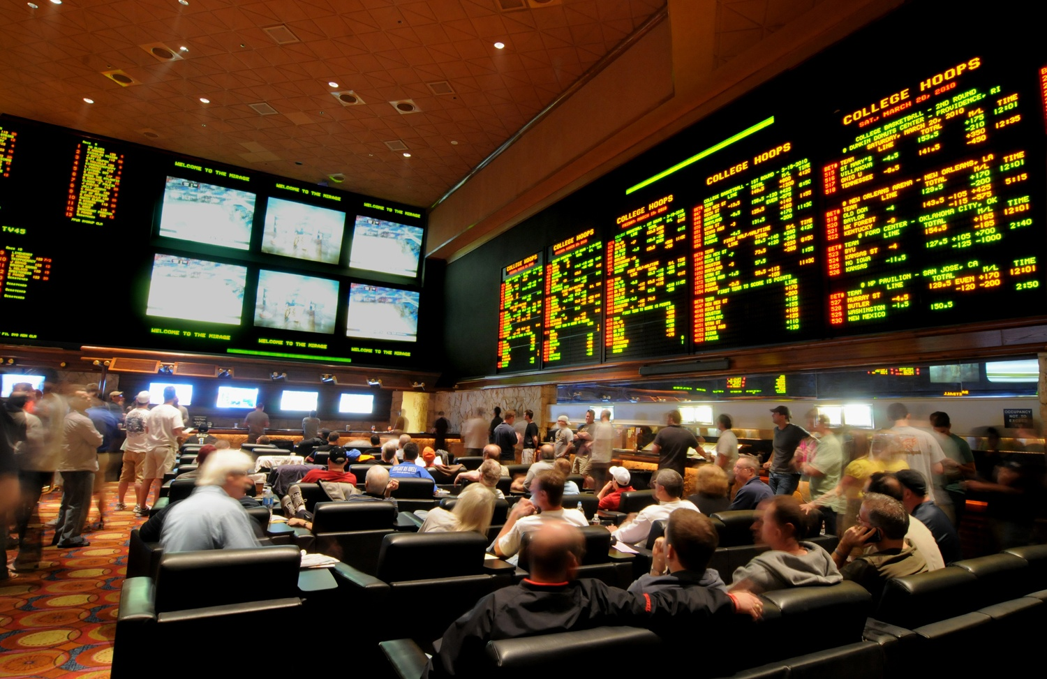 Mirage Race and Sports Book in Las Vegas
