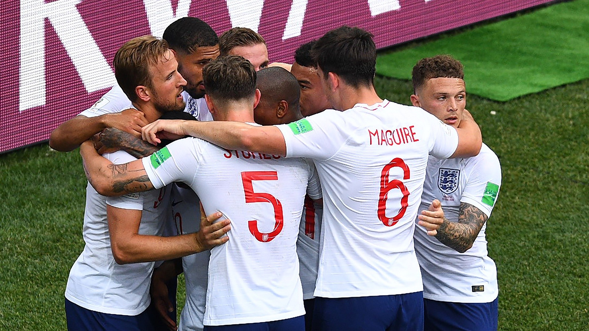 England World Cup team