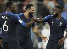 France could very well be celebrating a World Cup after their match with Croatia. (Image: AP)