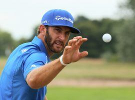 Dustin Johnson is often a betting favorite in golf, but should the PGA get a piece of every bet placed on him? (Image: Mark Ehrmann/Getty)