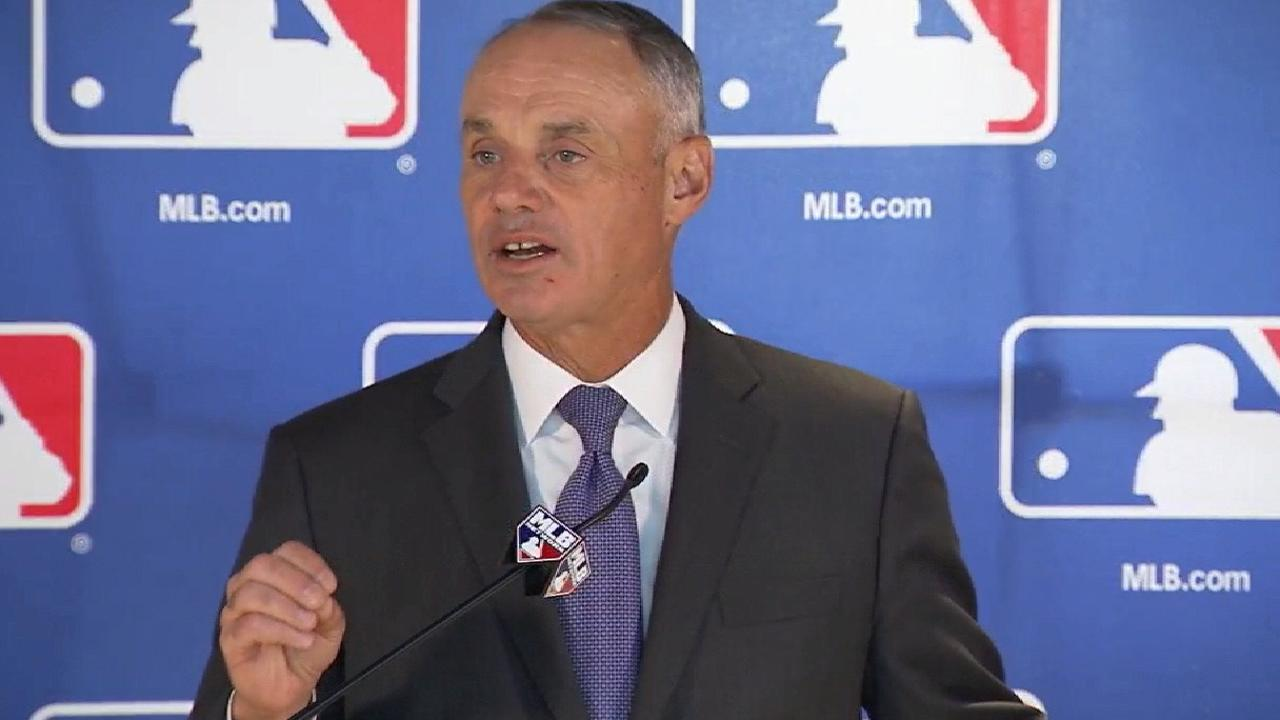Rob Manfred, Major League Baseball