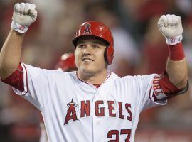 Los Angeles Angels outfielder Mike Trout is trying for his third All Star MVP award. (Image: AP)