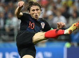 Luca Modric of Croatia won the Golden Ball award for the outstanding player of the World Cup. (Image: AFP)