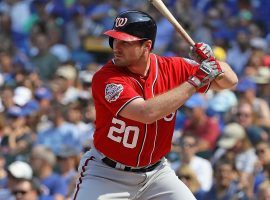 The Chicago Cubs acquired Daniel Murphy from the Washington Nationals in exchange for a minor leaguer and future considerations. (Image: Jonathan Daniel/Getty)