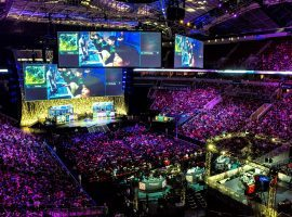 The International has become the richest event in esports, with Dota 2's 2018 championship again breaking prize pool records. (Image: 71republic.com)
