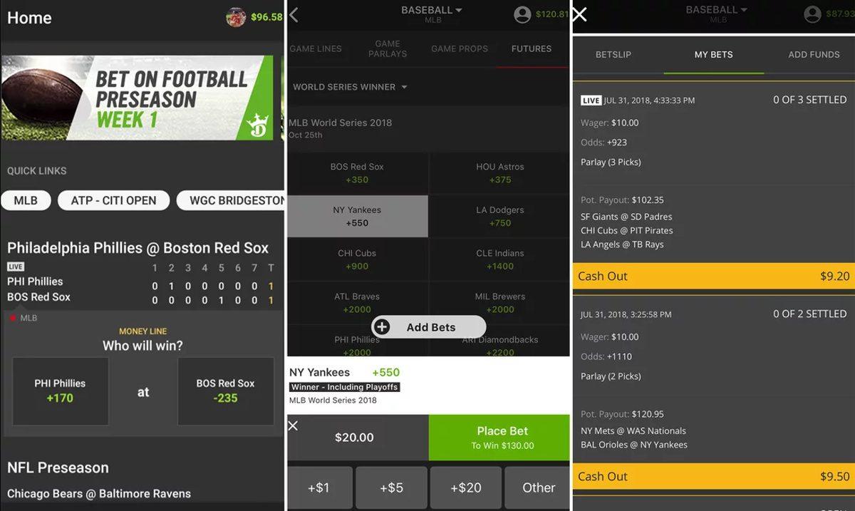 DraftKings mobile sportsbook NJ