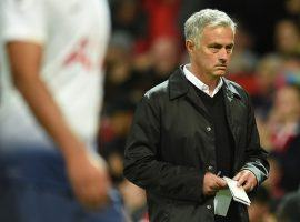 Manager Jose Mourinho is facing mounting pressure after Manchester United's 3-0 home loss to Tottenham Hotspur on Monday. (Image: AFP)